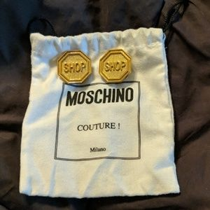 Moschino Couture Earrings